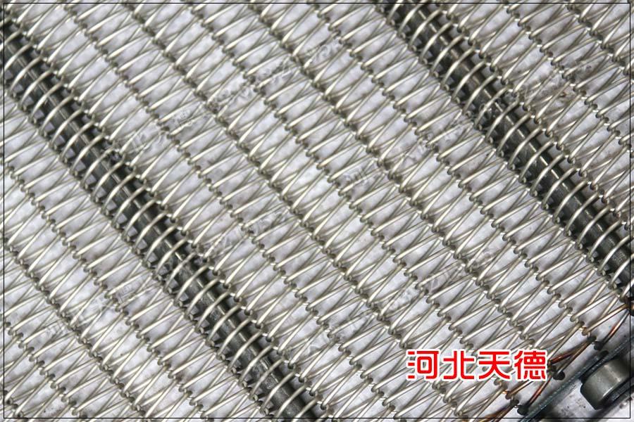 辽宁大连300米链条不锈钢网带已经排产