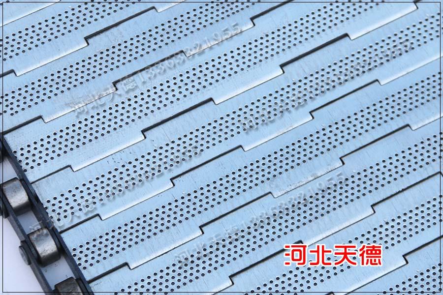 链板不锈钢金属输送带长期使用会生锈吗?