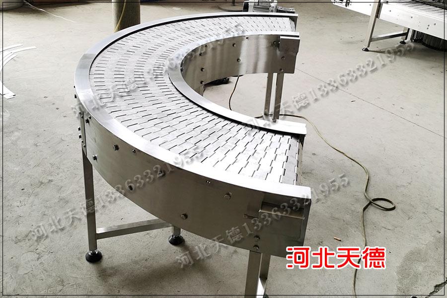 火腿肠速冻机金属网带、自动流水线链板输送机