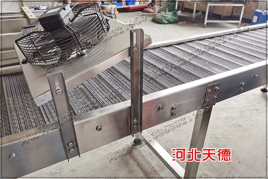重型清洗设备马蹄链金属网带输送机