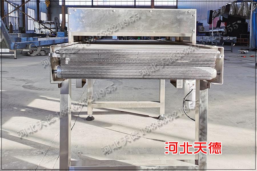 广州虾尾速冻提升网链输送机订单数据