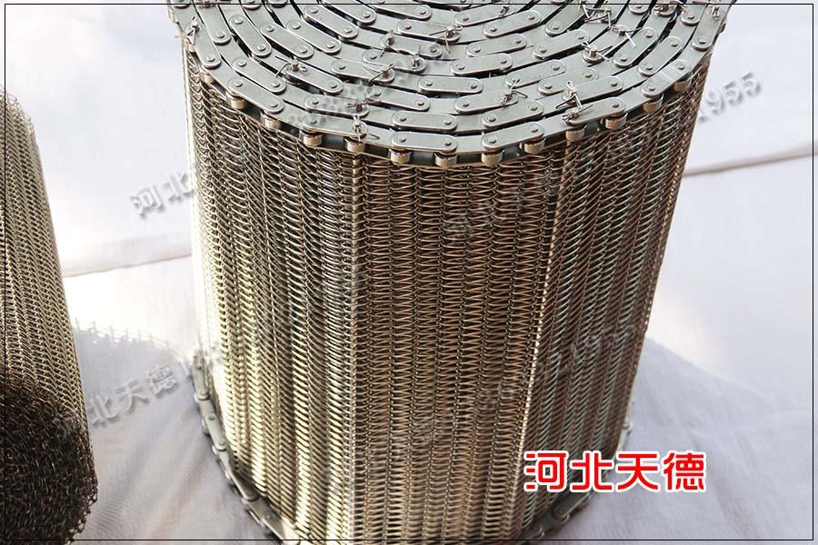 大虾速冻输送机不锈钢网带