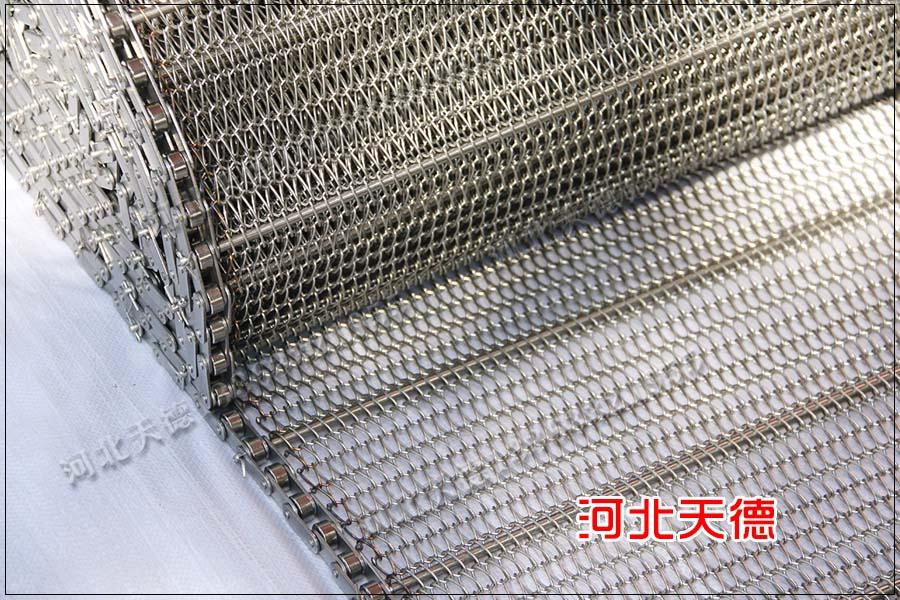 大节距耐腐蚀不锈钢链条输送带订单