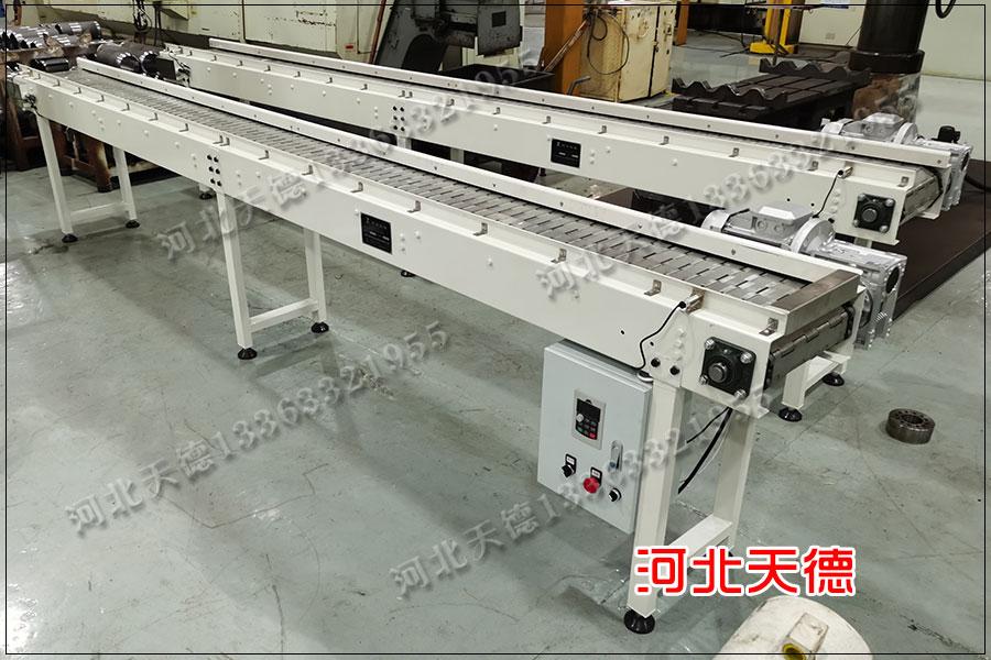 烟台工件毛刺打磨链板输送机下单尺寸