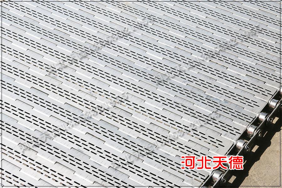 安装工业流水线不锈钢链板输送带的需要