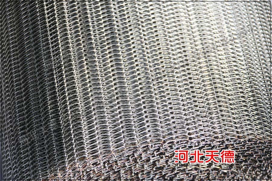 工作前事项:吊挂生产线链条不锈钢网带